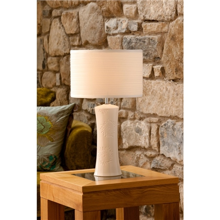 Belleek Living Khara Lamp and Shade  - Click to view a larger image