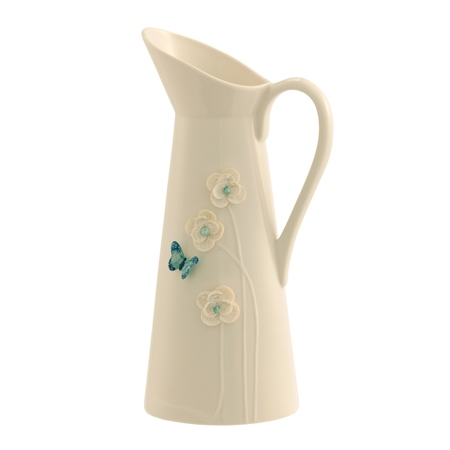 Belleek Living Azure Pitcher - Colour Collection Azure Pitcher - Click to view a larger image