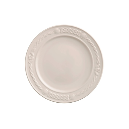 Belleek Classic Claddagh DinnerPlate  - Click to view a larger image