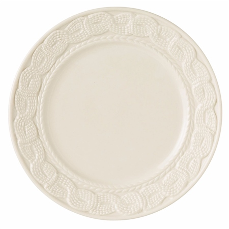 Belleek Classic Galway Cable - Accent Plate  - Click to view a larger image