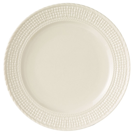 Belleek Classic GALWAY WEAVE DINNER PLATE   - Click to view a larger image