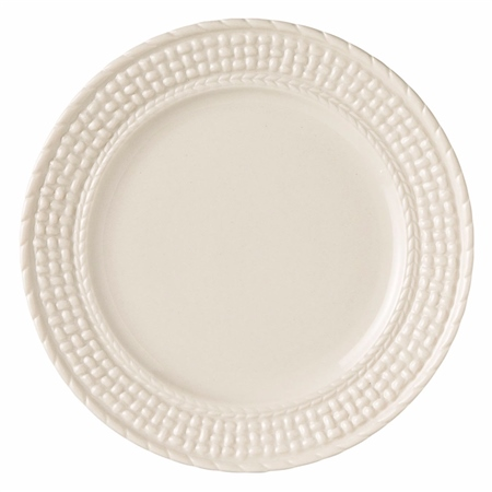 Belleek Classic Galway Weave Side Plate  - Click to view a larger image