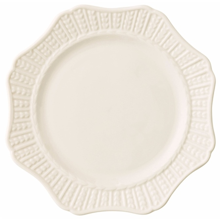 """Belleek Classic SCALLOP 8.9"""" ACCENT PLATE   - Click to view a larger image"""