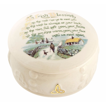 Belleek Classic Irish Blessing Gift Box  - Click to view a larger image
