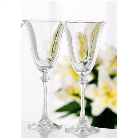 Galway Crystal LIBERTY GOBLET PAIR  - Click to view a larger image