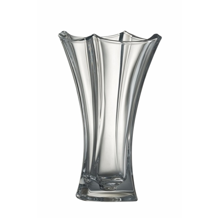 "Galway Crystal Dune 12"" Waisted Vase  - Click to view a larger image"