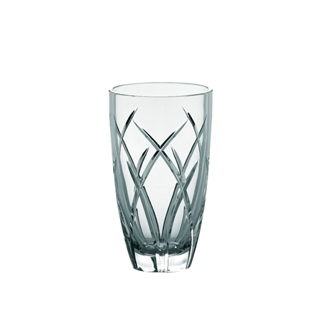 "Galway Crystal MYSTIQUE 10"" ROUND VASE  - Click to view a larger image"