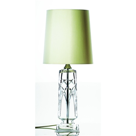 Galway Crystal Mystique Lamp and Shade  - Click to view a larger image