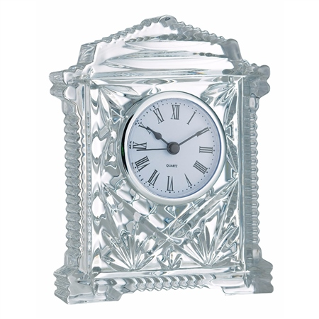 Galway Crystal Lynch Carriage Clock  - Click to view a larger image