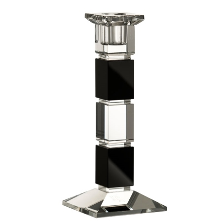 "Galway Living Deco 8"" Square Candlestick  - Click to view a larger image"