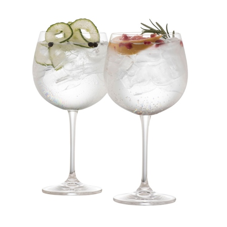 Galway Living Clarity Gin and Tonic Glass Pair  - Click to view a larger image
