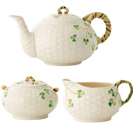 Belleek Classic Shamrock Irish Tea *Exclusive* - Click to view a larger image  sc 1 st  Belleek.com & Belleek Classic Shamrock Irish Tea *Exclusive* | Belleek.com
