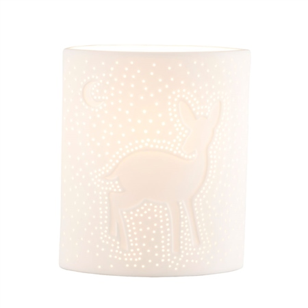 Belleek Living Reindeer Luminaire  - Click to view a larger image