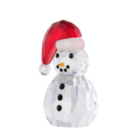 Galway Living Small Snowman Santa Hat  - Click to view a larger image