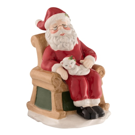 Aynsley Santa's Christmas Chair  - Click to view a larger image