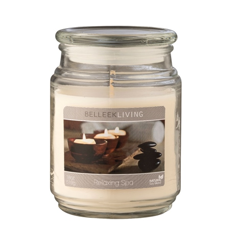 Belleek Living Relaxing Spa Candle  - Click to view a larger image