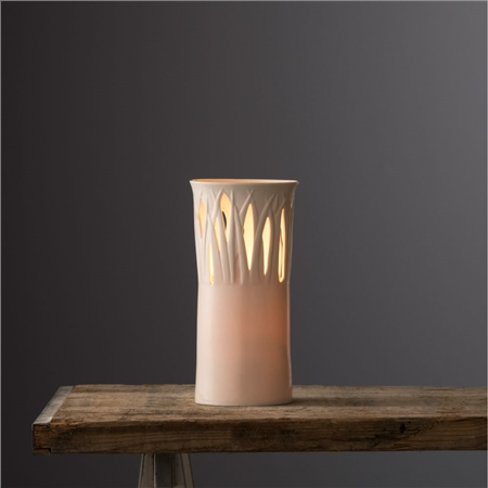 Belleek Living Pasture Lamp By Wendy Ward  - Click to view a larger image