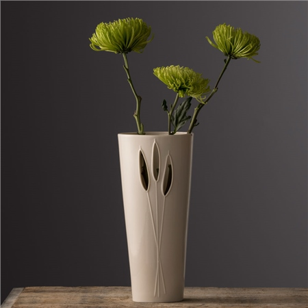 Belleek Living Reeds Vase By Wendy Ward  - Click to view a larger image