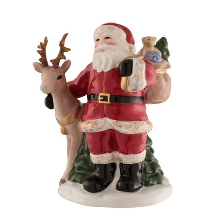 Aynsley Santa with Reindeer  - Click to view a larger image