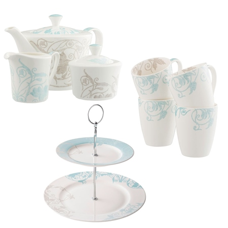 Belleek Living *Exclusive* Novello Afternoon Tea Bundle  - Click to view a larger image