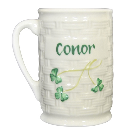 Belleek Classic Personalised Mug   - Click to view a larger image