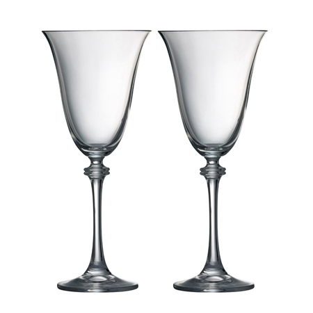 Galway Living Personalised Liberty Goblet Pair   - Click to view a larger image