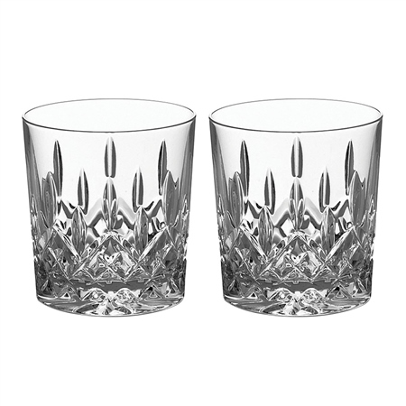 Galway Crystal Personalised Galway Crystal Longford DOF Pair   - Click to view a larger image