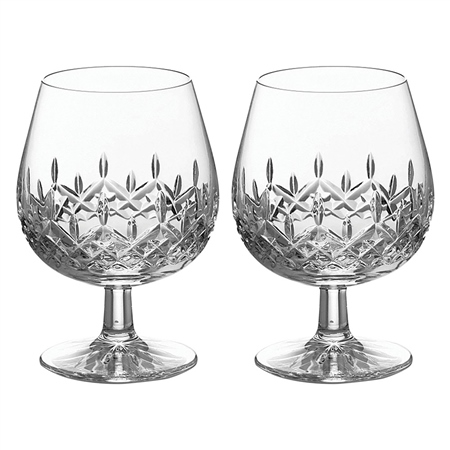 Galway Crystal Personalised Galway Crystal Longford Brandy Pair   - Click to view a larger image