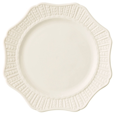 Belleek Classic Personalised Belleek Classic Scallop 8.9 Accent Plate   - Click to view a larger image