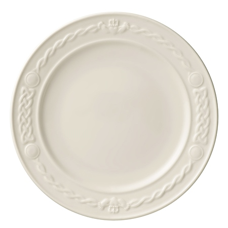 Belleek Classic Personalised Belleek Classic Claddagh 5 Side Plate   - Click to view a larger image