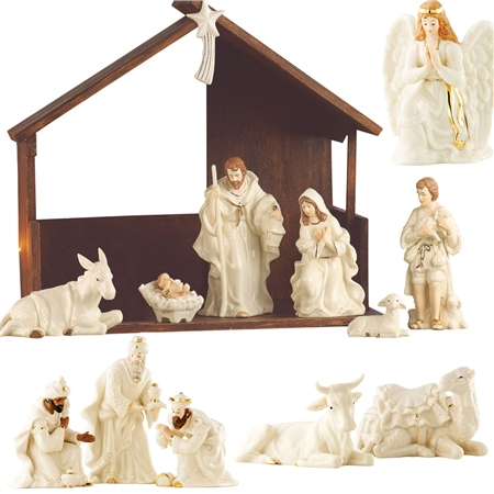 Belleek Living Nativity Bundle *Belleek.com - Exclusive*  - Click to view a larger image