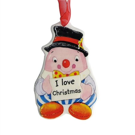 Aynsley Humpty Dumpty Hanging Ornament  - Click to view a larger image