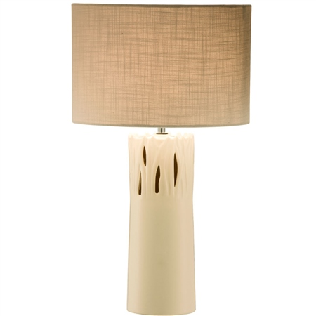 Belleek Living Pasture Lamp & Shade  UK Fitting  - Click to view a larger image