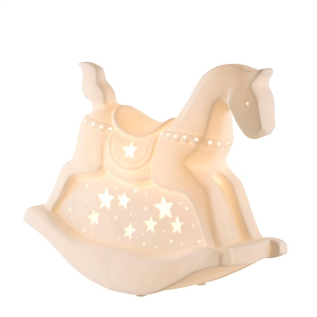 Belleek Living Rocking Horse Luminaire  - Click to view a larger image