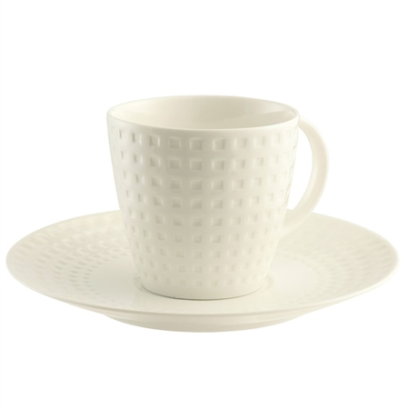 Belleek Living Grafton 4 Teacups & Saucers  - Click to view a larger image