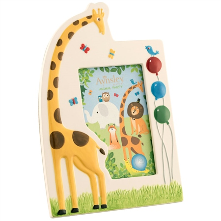 Aynsley Jolly Giraffe Frame  - Click to view a larger image