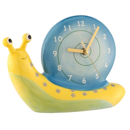 Aynsley Snail Table Clock  - Click to view a larger image