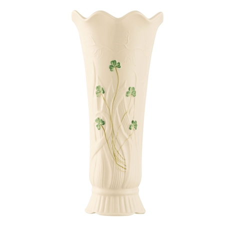 Belleek Classic Woodland Vase  - Click to view a larger image