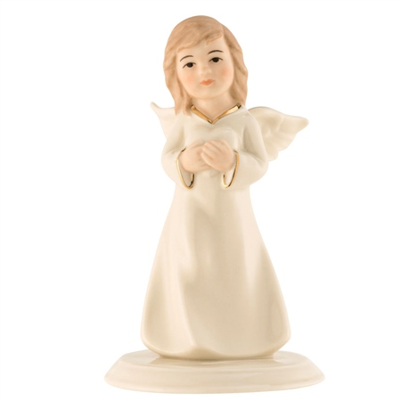 Belleek Living Angel of Love Figurine  - Click to view a larger image