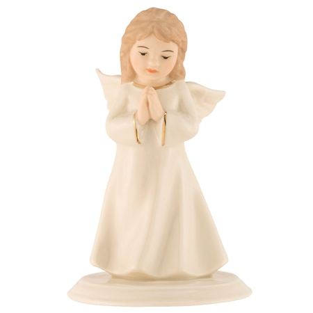 Belleek Classic Mini Angel of Prayer  - Click to view a larger image