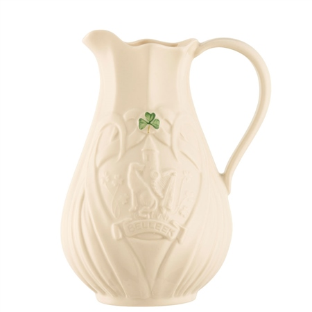 Belleek Classic Trademark Pitcher Edition Piece 2018  - Click to view a larger image