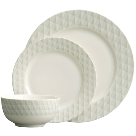 Aynsley Geo 12 Piece Dinnerware Set  - Click to view a larger image