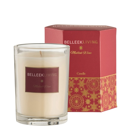 Belleek Living Mulled Wine Candle  - Click to view a larger image
