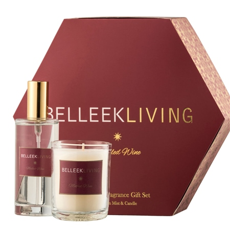 Belleek Living Mulled Wine Gift Set  - Click to view a larger image