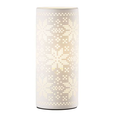 Belleek Living Snowflake Luminaire  - Click to view a larger image