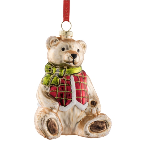 Belleek Living Teddy Bear  - Click to view a larger image
