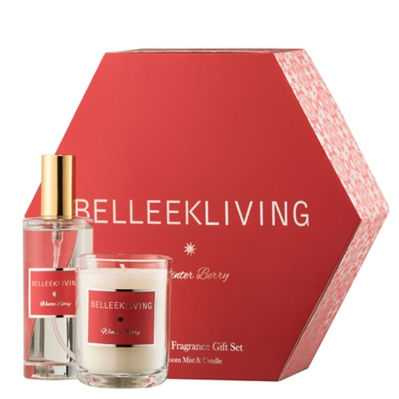 Belleek Living Winter Berry Gift Set  - Click to view a larger image