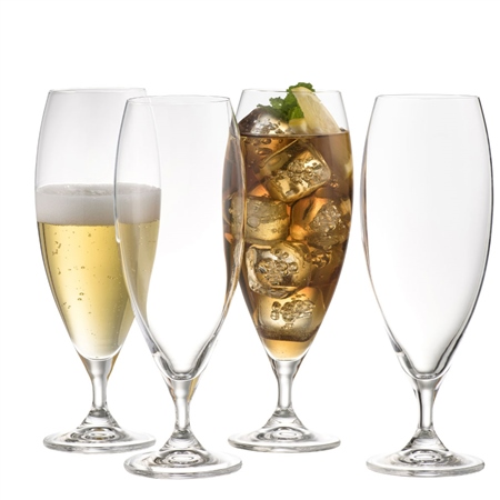 Galway Living Clarity Beer/ Ice Tea Set of 4  - Click to view a larger image