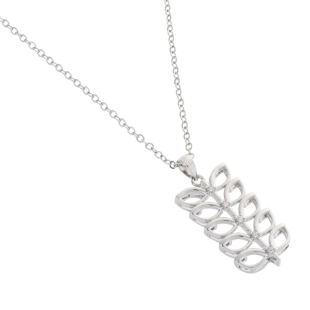 Belleek Designer Jewellery Leaves Necklace Belleek.com Designer Jewellery - Leaves Collection - Click to view a larger image