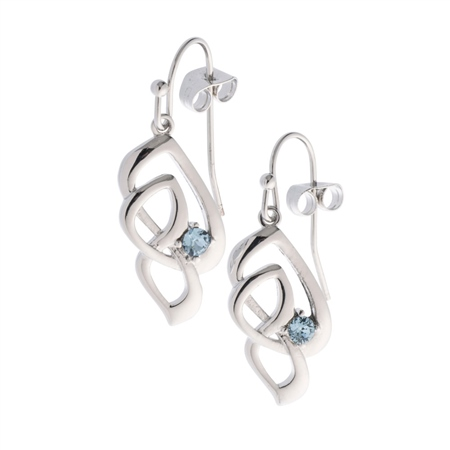 Belleek Designer Jewellery Love Knot Earrings Belleek.com Designer Jewellery - Love Knot Collection - Click to view a larger image